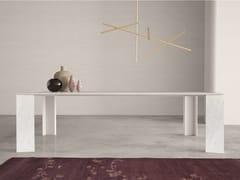 Tavolo rettangolare in marmo NOA   Tavolo rettangolare - Contemporary