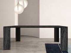 Tavolo quadrato in marmo NOA | Tavolo quadrato - Contemporary