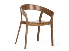Sedia in legno con braccioliARCHER B-4800 - PAGED MEBLE
