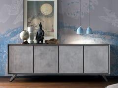 Madia in cemento con ante a battenteNOOK | Madia in cemento - ALTA CORTE