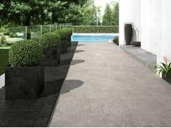 Pavimento per esterni in gres porcellanato effetto pietra NORD | Pavimento per esterni - Nord