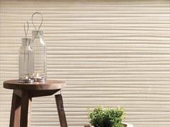 Rivestimento tridimensionale in ceramica a pasta bianca effetto pietraNORDIC STONE WALL DANIMARCA STRIPE - ITALGRANITI