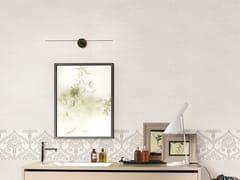 Mosaico con superficie tridimensionale in ceramica a pasta bianca effetto pietraNORDIC STONE WALL ISLANDA ESAGONETTE - ITALGRANITI