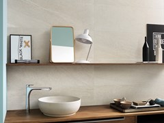 Italgraniti, NORDIC STONE WALL NORVEGIA Rivestimento in ceramica a pasta bianca effetto pietra