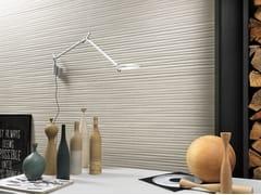 Rivestimento tridimensionale in ceramica a pasta bianca effetto pietraNORDIC STONE WALL NORVEGIA STRIPE - ITALGRANITI