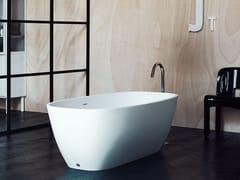 Vasca da bagno centro stanza ovale in Cristalplant®NORMAL | Vasca da bagno - AGAPE