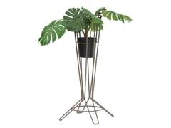 Vaso da giardino alto in acciaio zincatoNOSTRUM | Vaso da giardino - ISIMAR