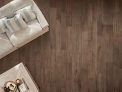 Pavimento in gres porcellanato effetto legno NOTE BROWN - Note