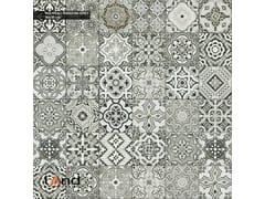 Land Porcelanico, NOUVEAU RANDOM GREY Pavimento in gres porcellanato tecnico effetto cementine