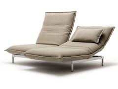 Chaise longue in tessuto NOVA | Chaise longue in tessuto -