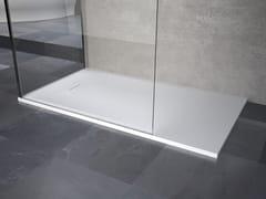 Piatto doccia angolare filo pavimentoNOVOSOLID - NOVELLINI
