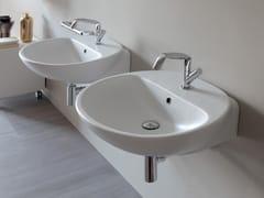 Lavabo singolo sospeso in ceramica NUDA | Lavabo sospeso - Nuda