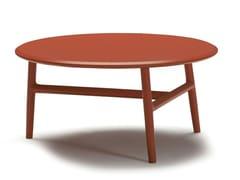 Tavolino rotondo in legno NUDO | Tavolino rotondo - Nudo