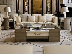 Tavolino basso rettangolare in marmo NUMERO TRE | Tavolino rettangolare - Numero tre