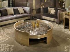 Tavolino basso rotondo in marmo NUMERO TRE | Tavolino rotondo - Numero tre