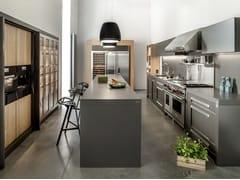 Cucina in metallo con isolaNY - ZAJC KUCHNIE
