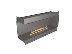 Caminetto angolare incassato a bioetanoloNZ60F Left-Corner Firebox - NETZERO FIRE DIVISION