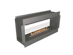 Caminetto a doppia facciata incassato a bioetanoloNZ60F See-Through Firebox - NETZERO FIRE DIVISION
