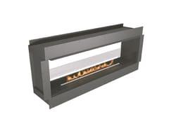 Caminetto a doppia facciata incassato a bioetanoloNZ72F See-Through Firebox - NETZERO FIRE DIVISION