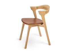 Sedia in rovere con cuscino integrato OAK BOK   Sedia con cuscino integrato - Oak Bok