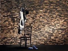 Bruno Parquet, OAK FOSSIL Rivestimento tridimensionale in legno di recupero