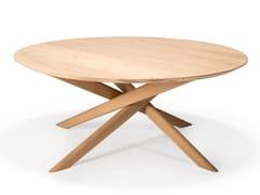 Tavolino da caffè rotondo in rovere OAK MIKADO | Tavolino rotondo - Oak Mikado