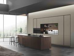 Cucina componibile con isolaOBLIQUA | Cucina con isola - ERNESTOMEDA