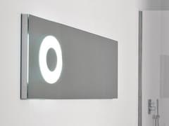Specchio rettangolare con illuminazione integrata da pareteOBLÒ50126 - ANTONIO LUPI DESIGN®