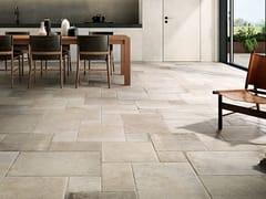 Pavimento in gres porcellanato effetto pietraOCCITANIE AVORIO - CERAMICHE COEM