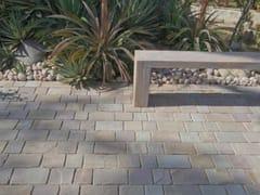 Pavimento per esterni in pietra naturaleOCHRE BEIGE PAVE SETTS - STONE AGE PVT. LTD.