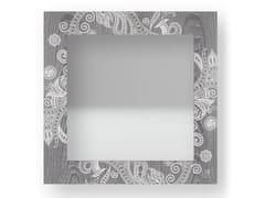 Specchio quadrato da parete con cornice ODALISQUE COLD | Specchio - DOLCEVITA MARRAKECH
