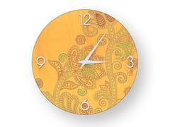 Orologio da parete in legno stuccato ODALISQUE COLORS | Orologio - DOLCEVITA MARRAKECH