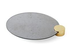 Vassoio ovale in specchio anticato ODETTE | Vassoio -