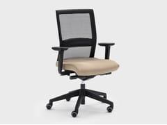 Sedia ufficio ad altezza regolabile in tessuto con braccioliWINNER | Sedia ufficio - VIGANÒ & C.