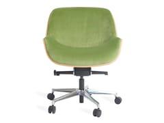 Sedia ufficio ad altezza regolabile in tessutoOFFICE - REAL PIEL