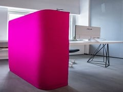 Divisorio ufficio fonoassorbente freestandingVERDI | Divisorio ufficio - THE ITALIAN SIGN