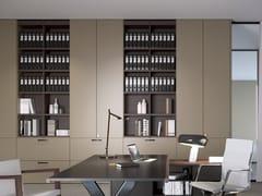 Mobile ufficio alto in legno con cassettiINTERPARETE BRIEFING | Mobile ufficio - ESTEL GROUP