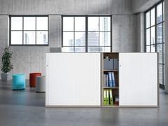 Mobile ufficio alto in acciaio con ante scorrevoli ACTA.FERRO | Mobile ufficio con ante scorrevoli - Acta.ferro