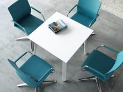 Tavolo da riunione rotondo OGI | Tavolo da riunione quadrato - Ogi
