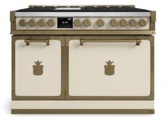 Cucina a libera installazione professionale in acciaioFIORENTINA OGS486FC | Cucina a libera installazione - OFFICINE GULLO