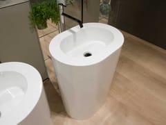 Lavabo freestanding ovale in polietileneOIO3C - ANTONIO LUPI DESIGN®