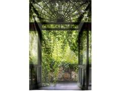 Stampa su tessuto da pareteOLD GREEN GARDEN DOOR - MONDIART INTERNATIONAL