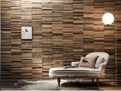 Rivestimento tridimensionale in legno di recuperoOLD OAK LINEAR - BRUNO