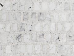 Lithos Mosaico Italia, OMAGGIO A SCARPA - BIANCO CARRARA Pavimento in graniglia e marmo di Carrara