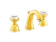 Rubinetto per lavabo a 3 fori con cristalli Swarovski® OMAN | Rubinetto per lavabo a 3 fori - Oman