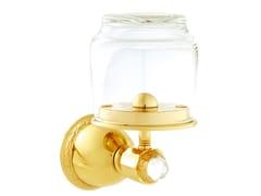 Portaspazzolino in metallo con cristalli Swarovski® OMAN | Portaspazzolino - Oman