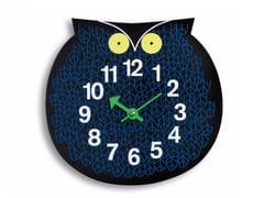 Orologio in compensato da parete per bambiniOMAR THE OWL - VITRA