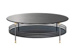 Tavolino da caffè rotondo in legno con vano contenitoreONA | Tavolino in legno - FARGO HONGFENG INDUSTRIAL