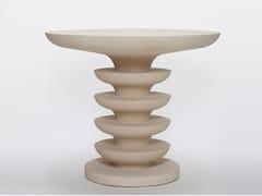 Tavolo da giardino rotondo in pietra lecceseONDULATION | Tavolo - PIMAR