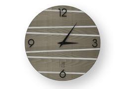 Orologio da parete in legno intarsiato ONE COLD | Orologio - DOLCEVITA LINES